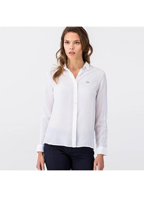 Lacoste Gömlek Beyaz